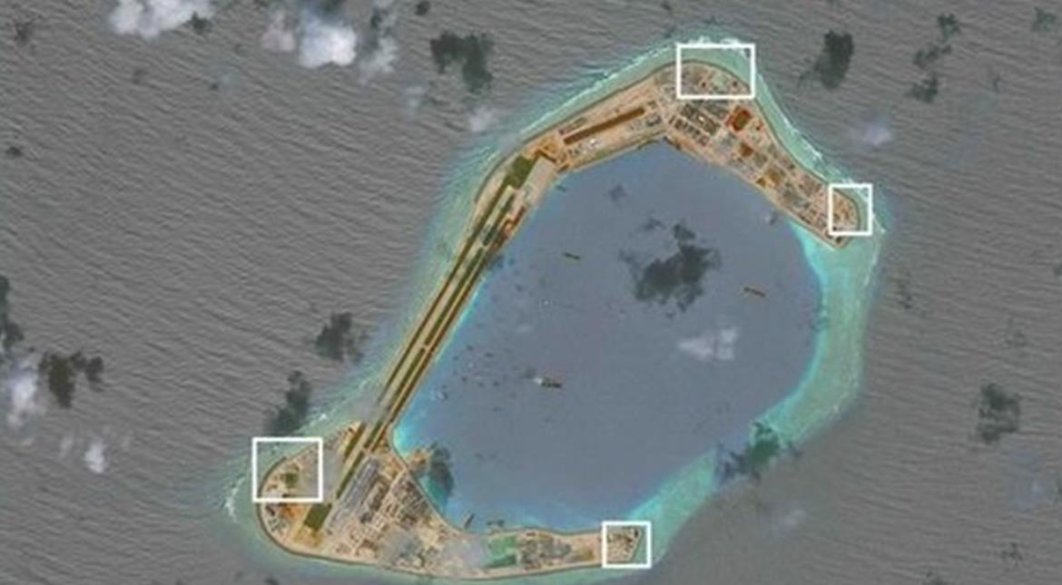 China has installed weapons on South China Sea islands: Think tank