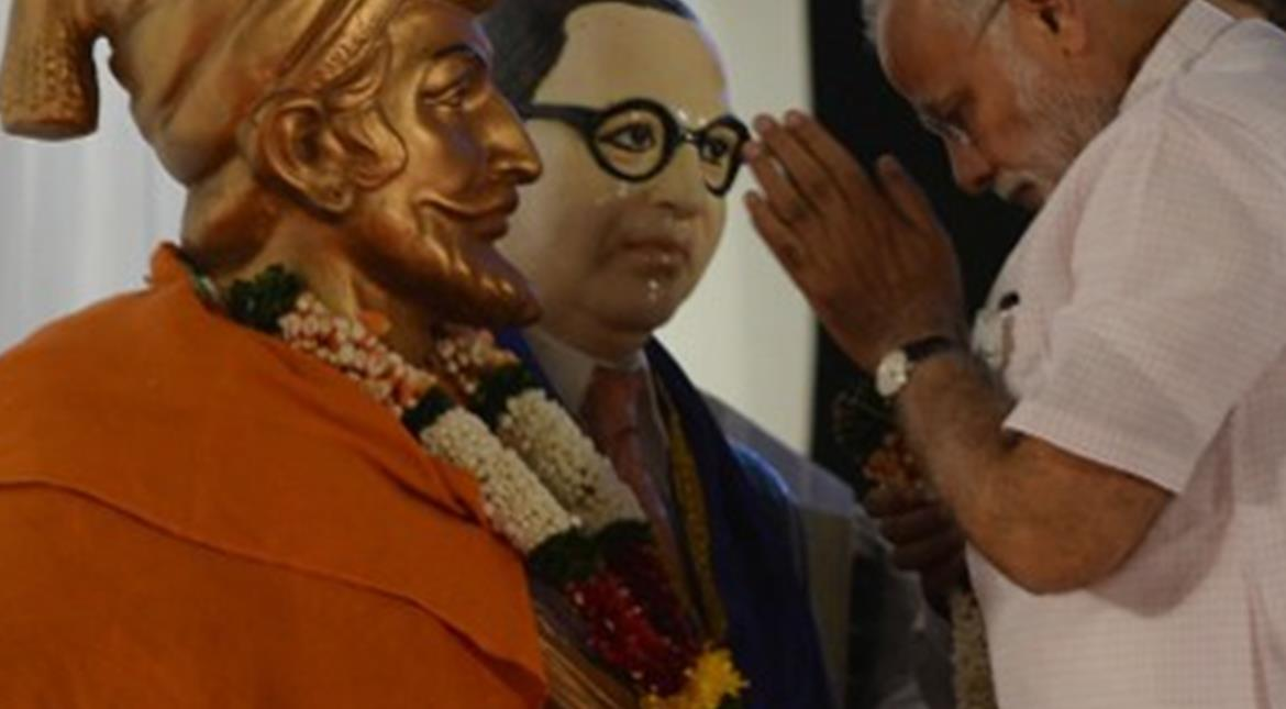 India lays foundation stone for world's tallest statue