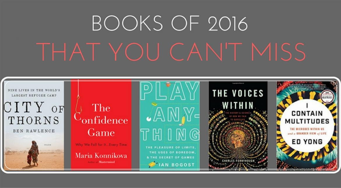 These books of 2016 talk about issues that matter!