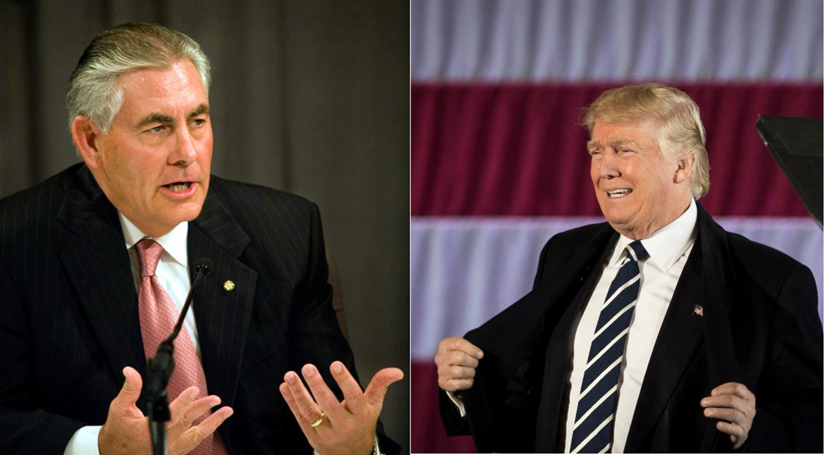 Trump appoints Exxon Mobil chief Rex Tillerson US state secretary
