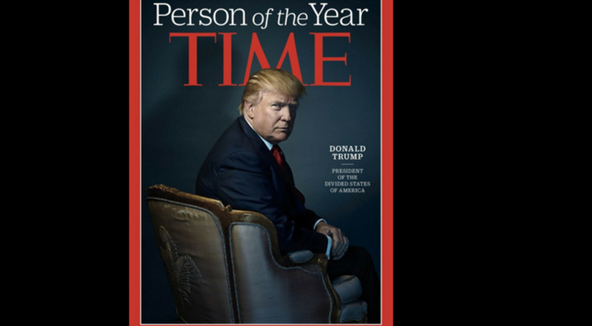 Donald Trump is Time magazine's 'Person of the Year'