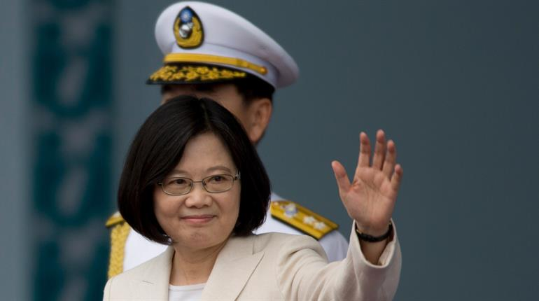 Taiwan president plans travel through United States in poke at China