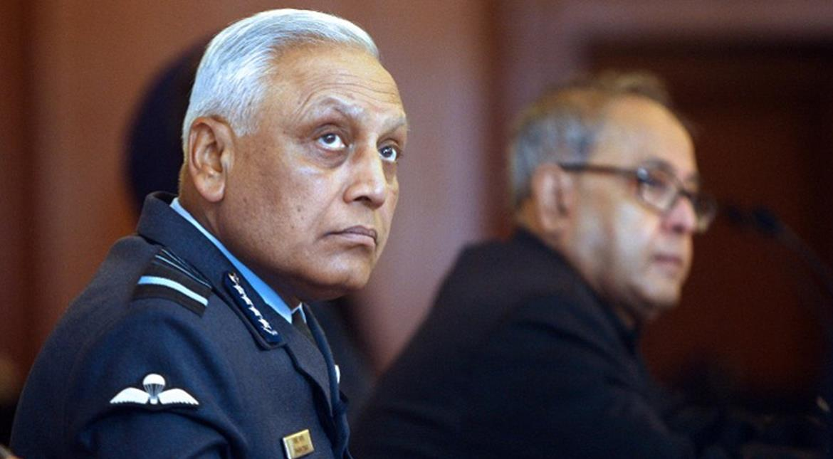 Scandal-hit former Indian air force chief to be produced in court today