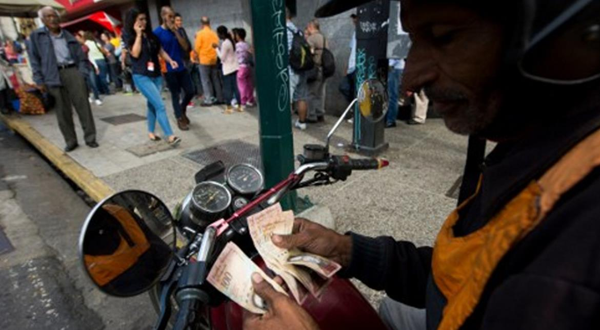 Cash chaos in Venezuela as replacement bills arrive late